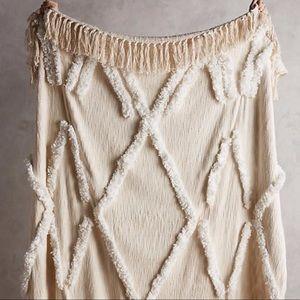 Anthropologie Aldolora Throw Blanket